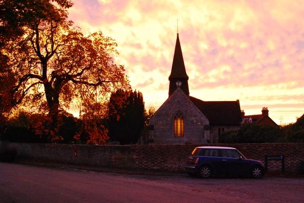 sunset St. Mary's
