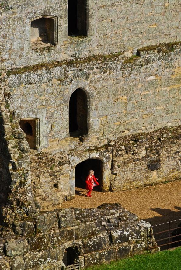 Bodiam Girl in Red