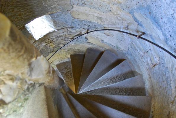 Bodiam stairwell