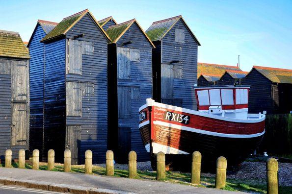 Net Huts & Boat