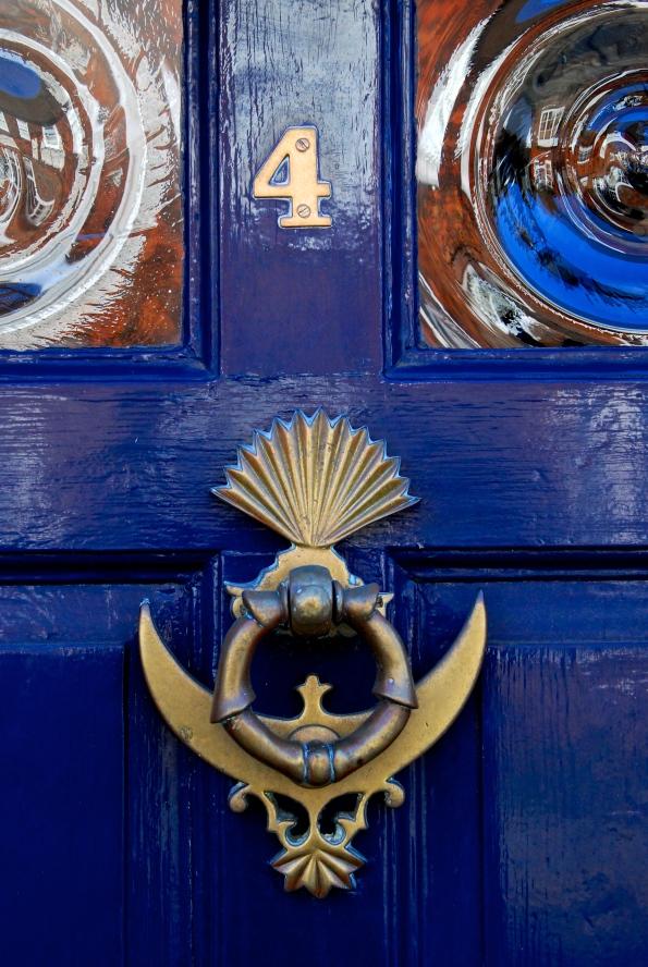 Rye Blue Door